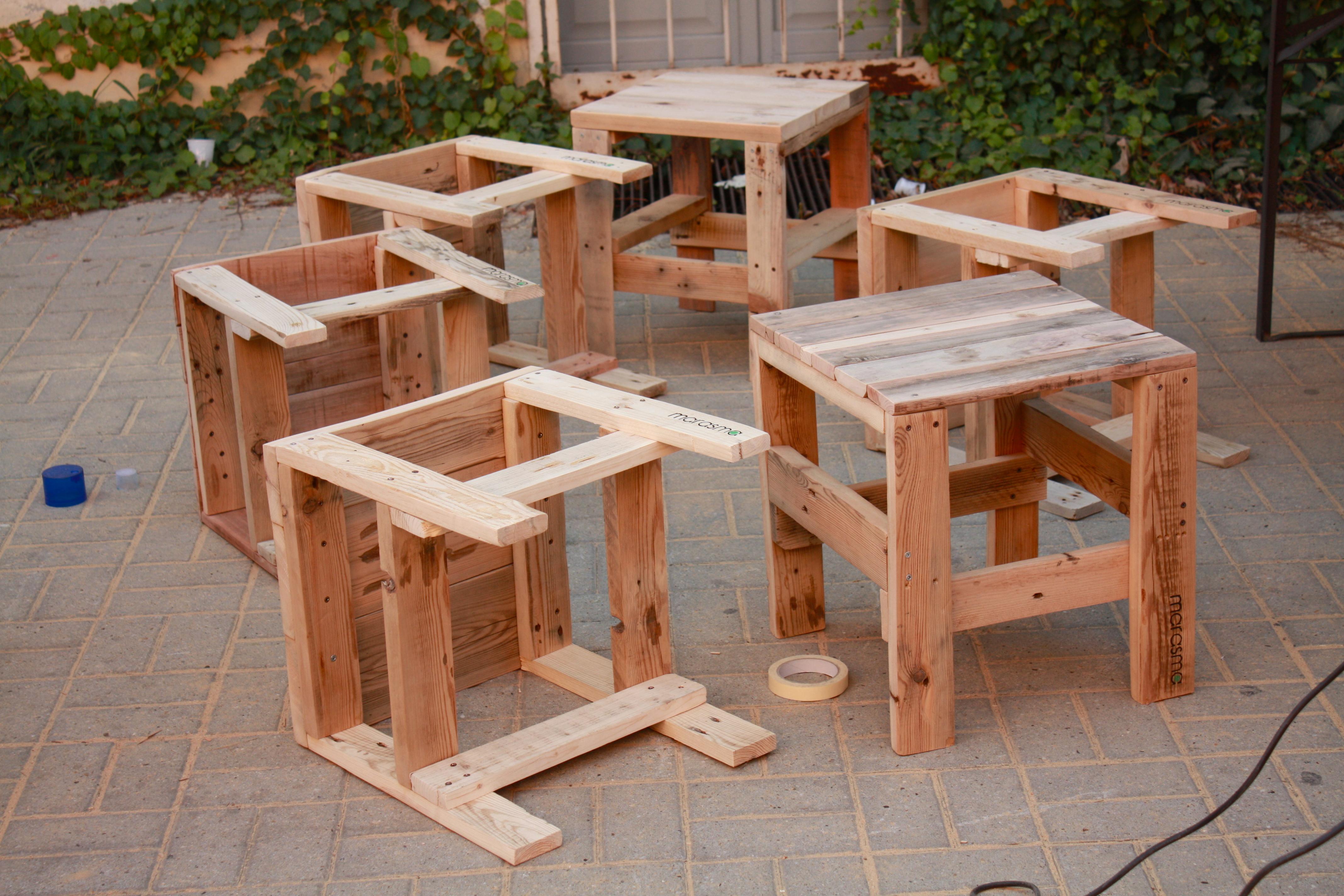 Snap awesome come costruire una sedia da giardino con i pallet